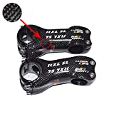 RXL SL 17 Degree Stem Carbon Carbon Fiber Road MTB Mountain Bicycle Bike Stems (17 Degree - 100 mm) (Color: Black 3K Glossy, Tamaño: 17 Degree 100mm)