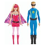 Barbie in Princess Power Super Hero 2 Pack Duo Set Barbie & Ken Doll Set CHG37