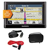 Garmin nüvi 52LM 5-Inch Portable Vehicle GPS + GPS Soft Carrying Case, 4-Way 12-Volt Adapter and RoadPro 12V 12′ Extension Cord with Cigarette Lighter Plug Best Kitchen Accessories