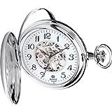 [ロイヤルロンドン]ROYAL LONDON 懐中時計 ポケットウォッチ ハンターケース 手巻き 90004-02  【正規輸入品】