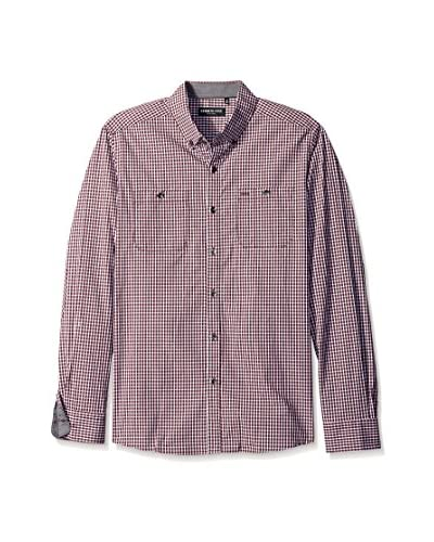 Kenneth Cole New York Men's Long Sleeve Button Down Collar Shirt