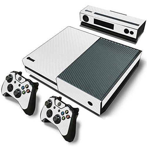 Mod Freakz Xbox One Console Vinyl Skin and Controller Skin White Carbon Fiber (Xbox One Console Mods compare prices)