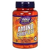 NOW Sports Amino Complete,120 Capsules (Tamaño: 120 Caps)