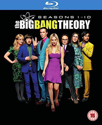 Blu-ray : Big Bang Theory - Seasons 1-10 [Blu-ray] [Region Free] [UK Import] [+Peso($32.00 c/100gr)] (US.AZ.49.99-0-B073HFXXNJ.207039)
