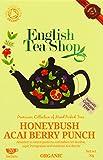 English Tea Shop Organic Honey Bush Acai Berry Punch Super Teas (Pack of 3, Total 60 Tea Bags)