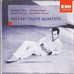 Mozart: Quartets for Flute, Violin, Viola & Cello