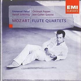 Mozart: Quartets for Flute, Violin, Viola & Cello