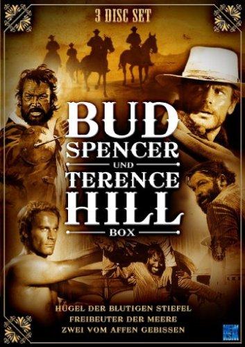 Bud Spencer & Terence Hill 3er Box (Hügel der blutigen Stiefel/Freibeuter der Meere/Zwei vom Affen gebissen) - (3 DVDs)