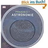Praxisset Astronomie: Planisphäre. Buch mit Einführung. 44 Sternbildkarten. Nachtlicht-Taschenlampe