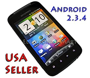A3 Unlocked Prepaid Android Phone Rooted Jailbreaked 3G Free Tether WiFi GPS for AT&T, Straight Talk, T-Mobile or Simple Mobile