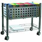 Advantus Vertiflex Mobile File Cart with Open Top