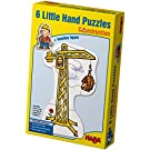 Haba Little Hand Puzzles: Construction (2,3,4 pc)