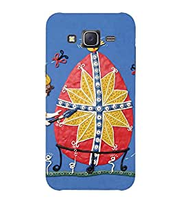 Doyen Creations Printed Back Cover For Samsung Galaxy J5