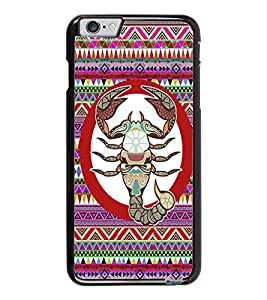 PrintDhaba Zodiac Cancer D-5846 Back Case Cover for APPLE IPHONE 6 (Multi-Coloured)