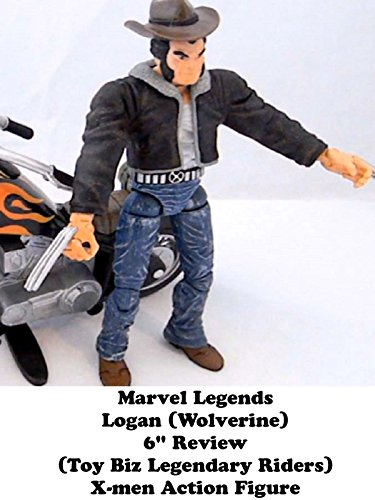 "Marvel Legends LOGAN (Wolverine) 6"" Review (Toy Biz Legendary Riders) X-men action figure"