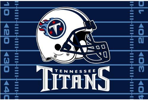 Northwest 1NFL-33100-0016-RET Titans NFL 39x59 Rug