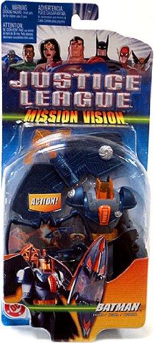 Justice League Deluxe Action Figure Mission Vision Batman (Blue Grey Armor) - 1