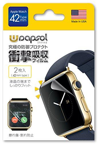 Wrapsol(ラプソル)ULTRA(ウルトラ)衝撃吸収フィルム Apple...
