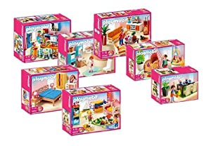 Playmobil 5329 5330 5331 5332 5333 5334 5335 jeux et jouets - Playmobil wohnzimmer 5332 ...