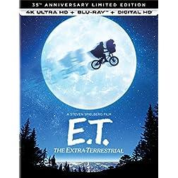 E.T. The Extra-Terrestrial [4K Ultra HD + Blu-ray]