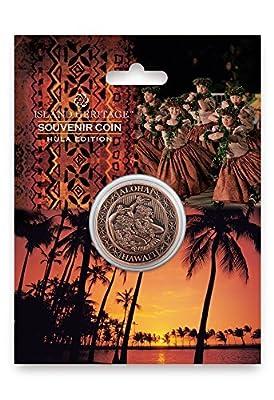 Souvenir Coin: Aloha Hawaii - Copper