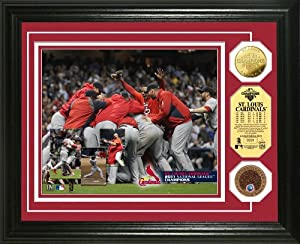 MLB St. Louis Cardinals 2011 NL Champs Infield Dirt Coin Photo Mint by Highland Mint