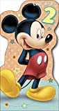 Mickey Mouse - 2nd Birthday Card - Die-Cut
