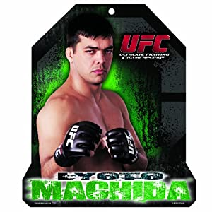 UFC Lyoto Machida 11-by-13 Wood Mascot/Player Sign