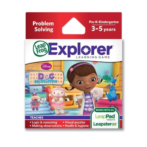 Leapfrog Explorer Learning Game: Disney Doc Mcstuffins Children, Kids, Game front-1034528