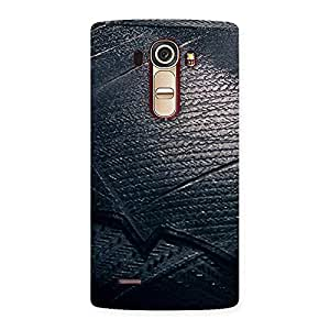 Knight Suit Black Print Back Case Cover for LG G4
