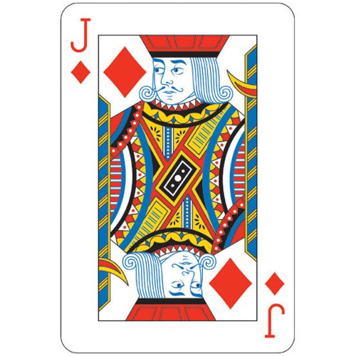 "21"" Jack Card Cutout - 1"