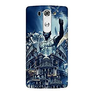 Ajay Enterprises Destroyed City Back Case Cover for LG G3 Beat