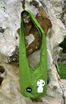Princess Mononoke Kodama Sling Hip Shoulder Bag 8 Green