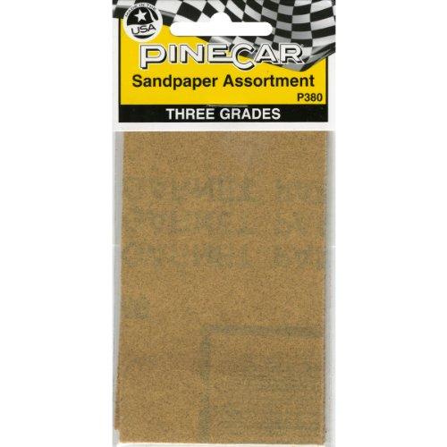 Pine Car Derby Sandpaper Assortment- - 1