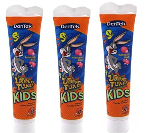 dentek-looney-tunes-bugs-bunny-bubblegum-blast-kids-toothpaste-27oz-by-dentek