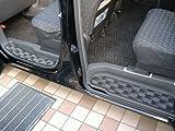 TOHPO [ 未来化学 ] STEP CARPET [ ステップカーペット ] セレナ用 [ ブロック ] ブラック [ フロント2枚リア2枚の4枚セット ] 水・汚れからフロアをガード! [ TOHPO ] BC-80753