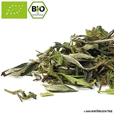 NATÜRLICH TEE - CHINA PAI MU TAN BIO - WEISSER TEE BIO / Biotee, White Tea Organic - 100G von Natürlich Tee - Gewürze Shop