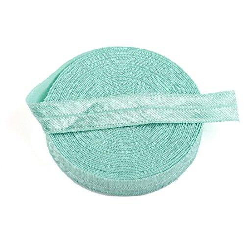 Phenix Dan Fold Over Elastic Foe Aqua Color Set 5 Yards 5/8 Inch front-61106