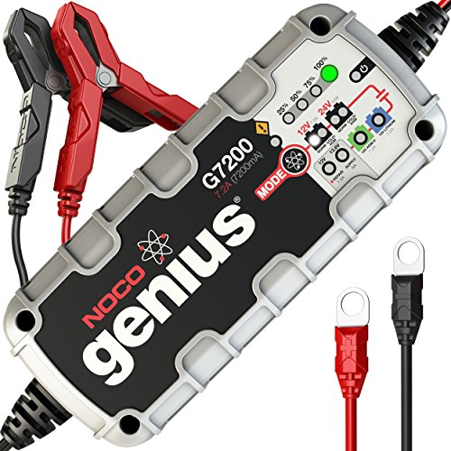 NOCO Genius G7200 12V/24V 7.2A UltraSafe Smart Battery Charger (Cycle Charger compare prices)
