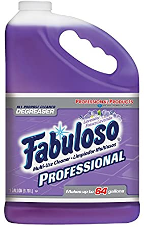 Fabuloso 04307  Lavender Fragrance All Purpose Cleaner, 1 gallon