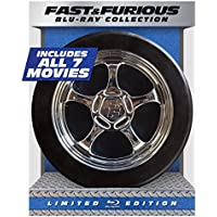 Fast & Furious: 1-7 Collection Limited Edition (Blu-ray + DIGITAL HD with UltraViolet)