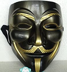 VIP version of V for Vendetta Mask / Anonymous / Guy Fawkes mask mask (japan import)