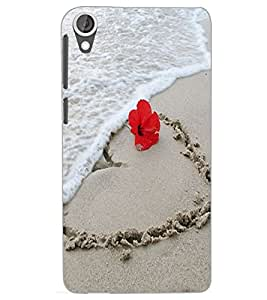 HTC DESIRE 820 SAND Back Cover by PRINTSWAG