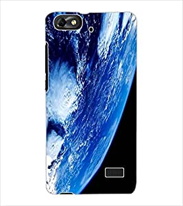 ColourCraft Earth Design Back Case Cover for HUAWEI G PLAY MINI