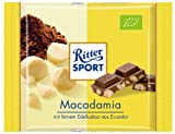 Ritter Sport - Bio Macadamia Nuts, chocolate with 35% cocoa - 65gr