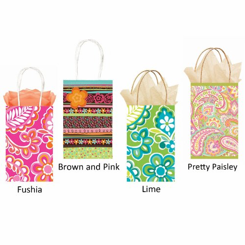 Party Bag - Floral (Lime) Party Accessory