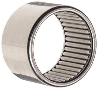"""Koyo B-812 Needle Roller Bearing, Full Complement Drawn Cup, Open, Inch, 1/2"""" ID, 11/16"""" OD, 3/4"""" Width, 5500rpm Maximum Rotational Speed"""