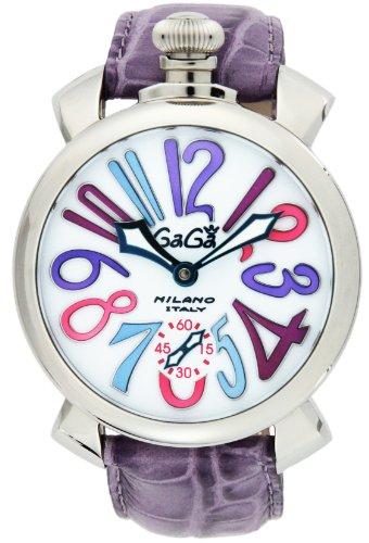 Gaga Milano Watch Manyuare 48mm Hand Winding 5010.09s-pur