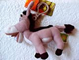 Shrek Movie Keyring - Donkey Stuffed Plush Zipper Pull Keychain