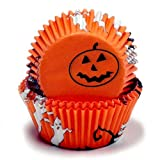 Chef Craft 50 Count Cupcake Liners, Halloween